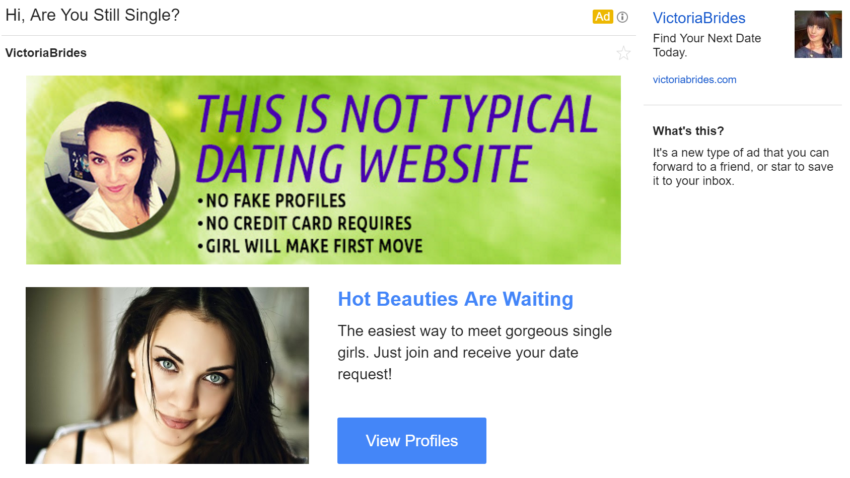 This is not typical dating website